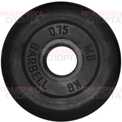 MB Barbell 0,75 кг 26 мм